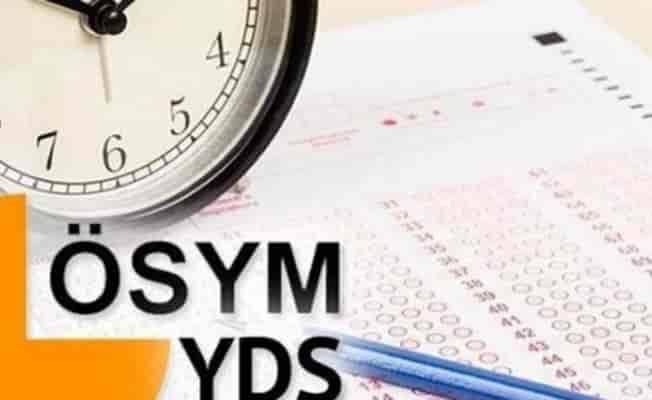 ÖSYM, YDS/1 sınav giriş belgelerini erişime açtı