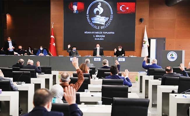 Pamukkale Belediyesinin faaliyet raporu kabul edildi