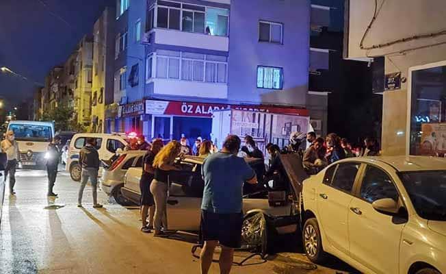 Polisten kaçan şüpheli, seyir halindeki araca çarptı: 3 yaralı