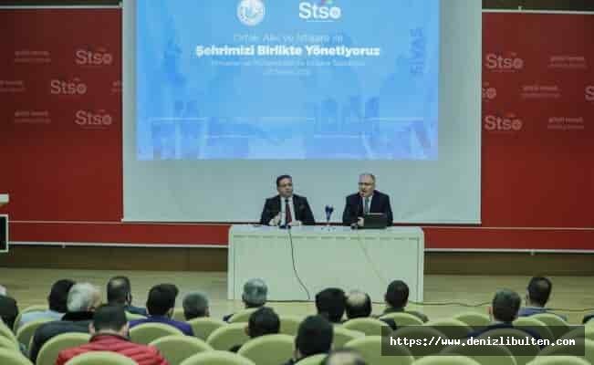 Sivas'ta inşaat sektörü 'ortak akıl'da buluştu