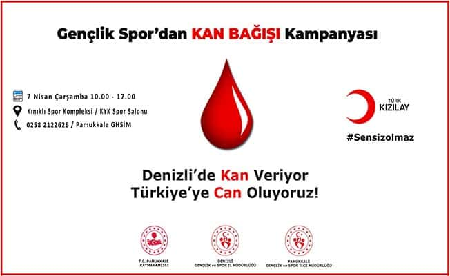 Spor camiasına kan bağışı çağrısı