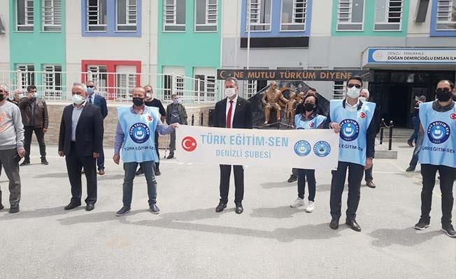 """TES Denizli: """"Müdürümüzün Atatürkçülüğüne de Milliyetçiliğine de kefiliz"""""""