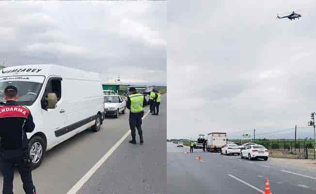 Trafik kurallarını ihlal edenlere gökyüzünden ceza yağdı