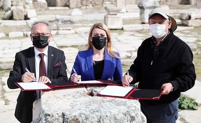 Turizm Haftası'nda Merkezefendi Belediyesi'nden Laodikya'ya büyük destek