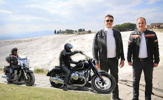Tüzmen ve Örki'den motosikletle Pamukkale turu