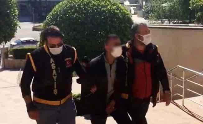 Villa hırsızı tutuklandı