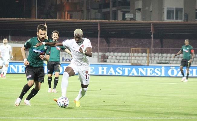 A. Hatayspor: 1 - Denizlispor: 0