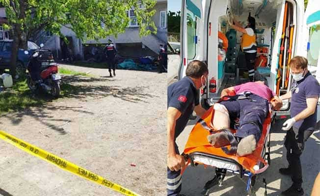 Alacak verecek kavgasında1 kişi yaralandı
