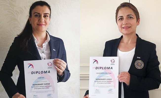Avrupa Cimnastik Birliği'nden PAÜ'lü Akademisyenlere Onursal Hakem ünvanı