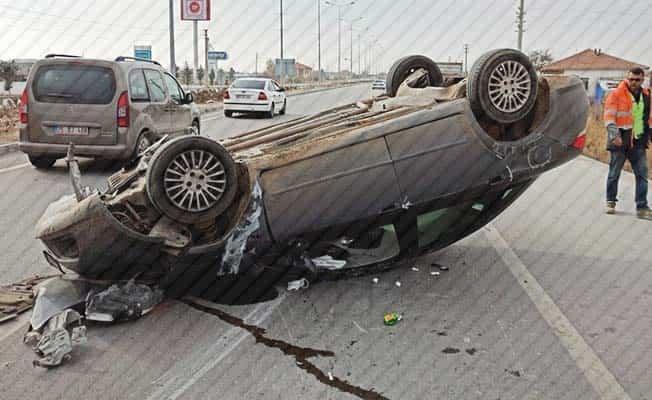Denizli'de son 1 haftada 121 trafik kazası meydana geldi
