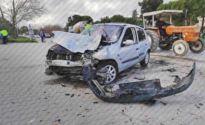 Denizli'de son 1 haftada 1'i ölümlü 62 trafik kazası meydana geldi