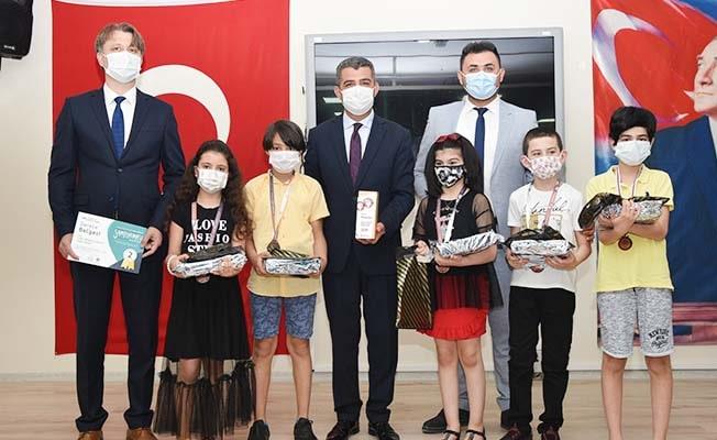Denizli'yi temsil eden öğrenciler Türkiye 2. oldu