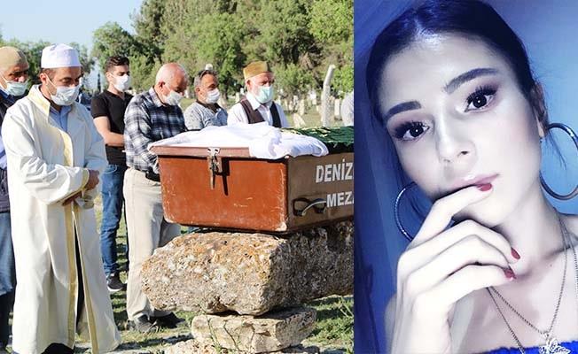 İzmir'de annesi tarafından öldürülen genç kız memleketi Denizli'de toprağa verildi