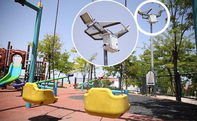Merkezefendi'de güvenlik kamerası takılan parkların sayısı artıyor