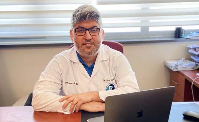 Tıbbi Genetik Anabilim Dalından başarılı bir bilimsel makale