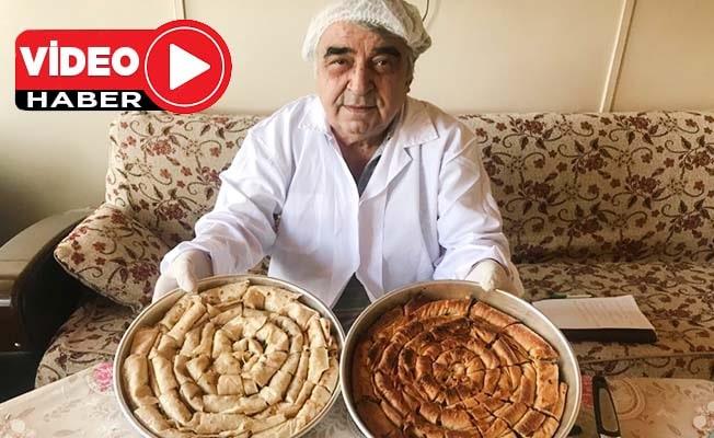 Ustasından Buldan'ın asırlık tatlısı 'Saraylı' tarifi