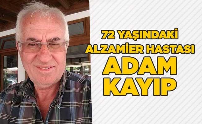 72 yaşındaki Alzamier hastası adam kayıp