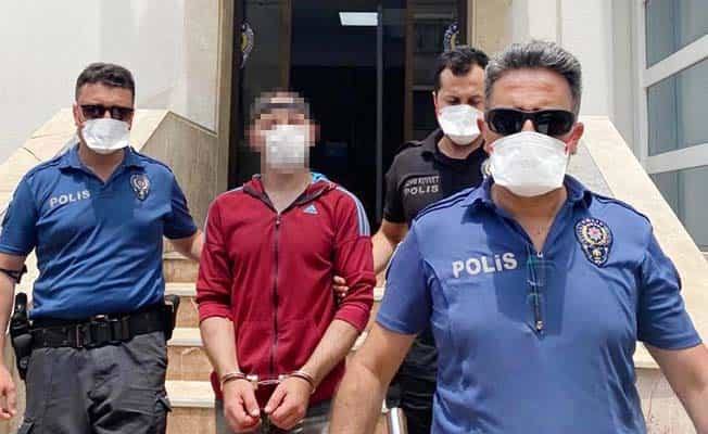 Cinayet zanlısı polise adres sorunca yakalandı