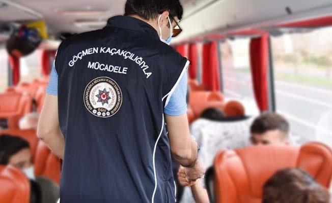 Denizli'de 107 yabancı uyruklu kişi yakalandı