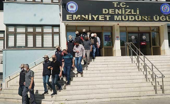 Denizli'de FETÖ'nün özel eğitim yapılanmasındaki 10 kişi tutuklandı