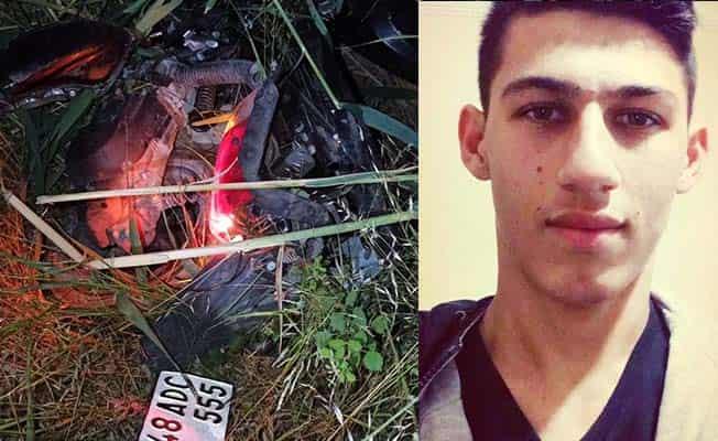Elektrik direğine çarpan motosiklet sürücüsü hayatını kaybetti