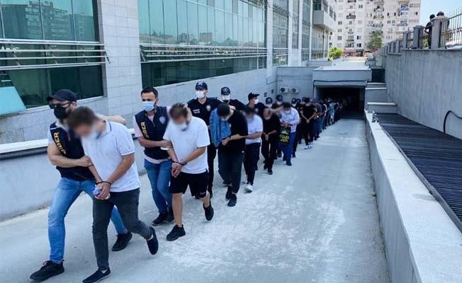 Mersin merkezli 18 ilde yasadışı bahis operasyonuna 35 tutuklama