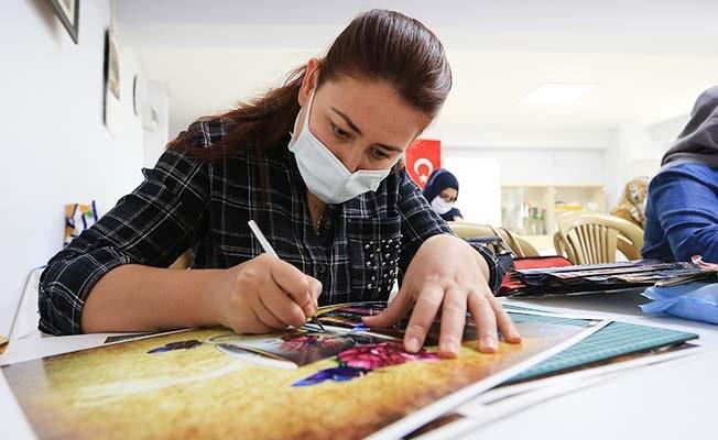 Pamukkale Belediyesinin ücretsiz kurslarına katılımcılardan övgü
