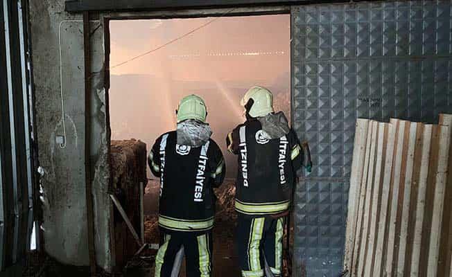 Tekstil fabrikasında çıkan yangında korku dolu anlar yaşandı