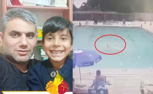 8 yaşındaki çocuk havuzda herkesin gözü önünde boğuldu