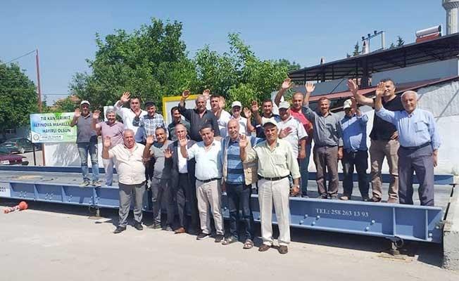 Altınova Mahallesinden Başkan İnamlık'a teşekkür