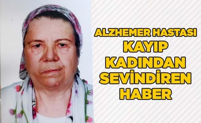 Alzheimer hastası kayıp kadından sevindiren haber