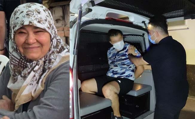 Annesini boğazını keserek öldüren zanlı saklandığı apartta yakalandı