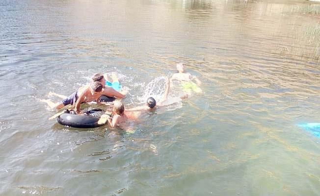 Baraj gölünde tehlikeli serinlik