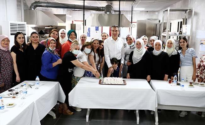 Büyükşehir ve BM'in kadınlara özel projesinde 2. eğitim dönemi tamamlandı