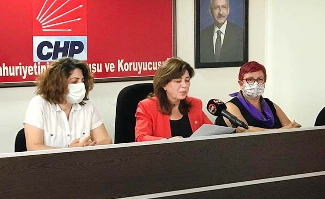 CHP Denizli Kadın Kollarından İstanbul Sözleşmesi açıklaması