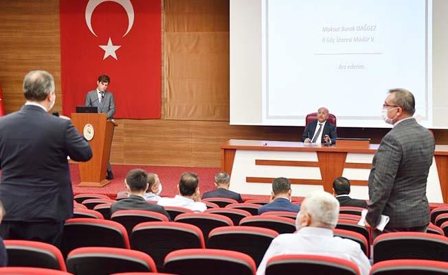 Denizli İl Göç Kurulu Toplantısı Vali Atik'in Başkanlığında gerçekleştirildi