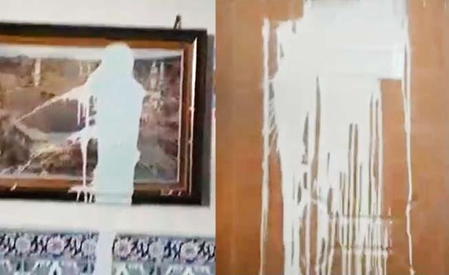 Denizli'de camiye çirkin saldırı