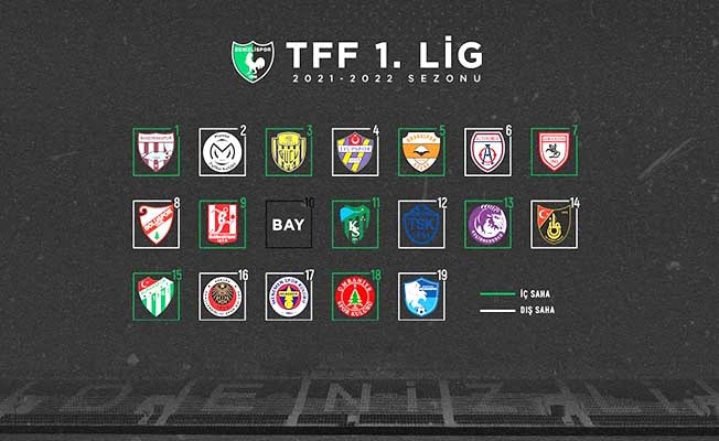 Denizlispor'un maç fikstürü belli oldu