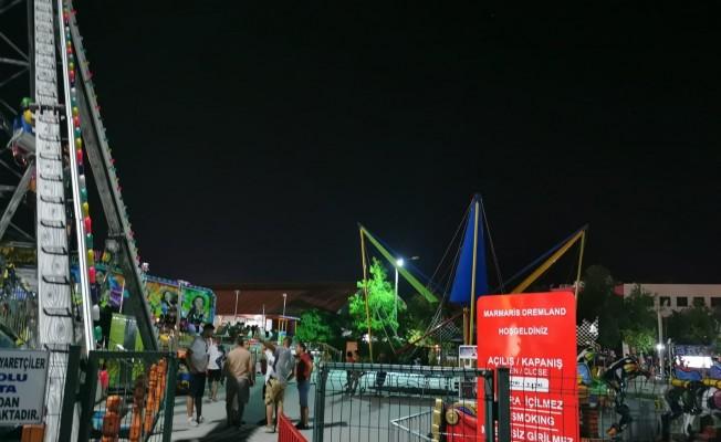 Marmaris'te lunaparka silahlı saldırı