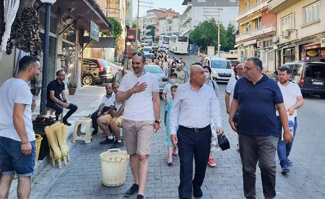 Osmaneli kafilesi Buldan'ı ziyaret edip seraları gezdi