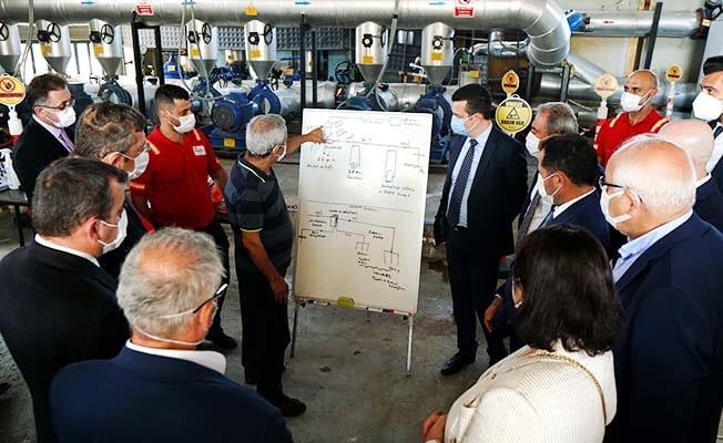 Türkiye Jeotermal Derneği Meclis Komisyonu, Aydem Yenilenebilir Enerji'nin Isı Merkezini ziyaret etti