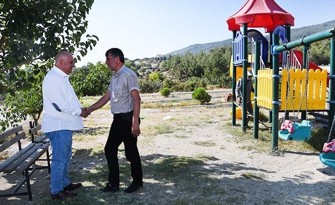 Başkan Şevik'ten,Bölmekaya'ya iki yeni park müjdesi