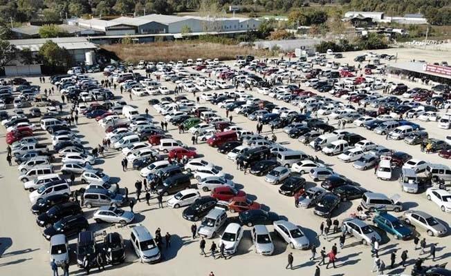 Denizli'de otomobil sayısı 437 bin 694'e  ulaştı