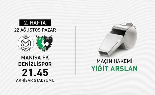 Denizlispor'un Manisa FK maçının hakemi belli oldu