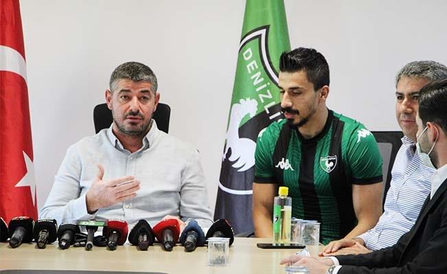 Transfer yasağı kalkan Denizlispor ilk transferini yaptı
