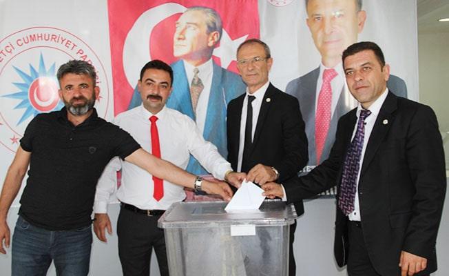 Milliyetçi Cumhuriyet Partisi Pamukkale'de ilçe kongresini gerçekleştirdi