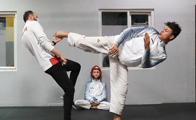 Pamukkale Belediyesporlu Taekwondocu Estonya vizesi peşinde
