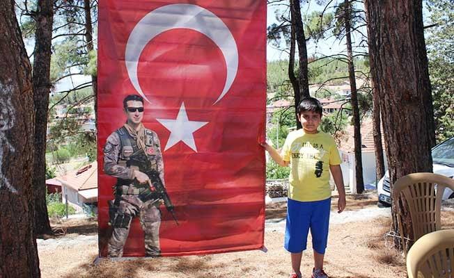 Şehit polis memuru Mehmet Ali Doğan unutulmadı