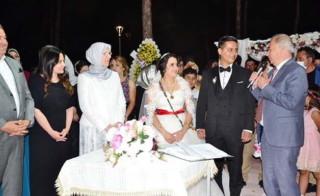Başkan Akcan'ın en mutlu günü