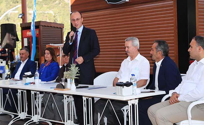Başkan Örki kekik üreticileriyle bir araya geldi